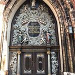 Westportal der Nikolaikirche! Sehr sehenswert