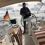 Rauschende Fahrt zurück nach Großenbrode mit 28 kn Wind