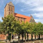Die St. Nikolai-Kirche wurde 1381 bis 1487 für Seefahrer und Fischer erbaut