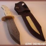 Etui pour couteau en cuir