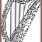 """Croquis """"harpe"""" réalisé par le Client."""
