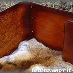 Grimoire en cuir entièrement doublé