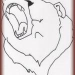 """Croquis """"ours"""" réalisé par le Client."""