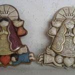Virgen Palomas Color $ 65.00 y en Viejo Claro $48.00
