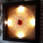 Cuadro Sol con Luz Led 90 cm X 90 Cm $ 2450.00