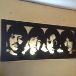 Lampara Beatles en Acero 1.20 Mts Ancho X 60 cm Altura $ 1650.00