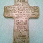 Cruz Padre Nuestro Viejo Claro $ 38.00