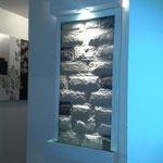 Fuente de Pared Vertical Diseño Liso 100 Cm. de Ancho X 50 Cm. de Altura $ 3200