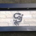 Fuente de Pared Horizontal Mod Dragon 90 Cm. de Alcho X 60 Cm. de Altura $ 3200