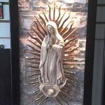 Fuente de Pared Vertical Mod Virgen 90 Cm. X 40 Cm. $ 2950.00