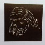 Lampara Cristo Rostro 90 X 90 cm $ 1620