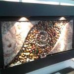 Fuente de Pared Horizontal Mod. Piedra Rio 90 Cm. X 60 Cm. $ 3500.00