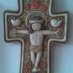 Cruz Cristo Palomas Infantil Colores $ 65.00