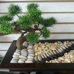 Centros Mesa Comedor con Bonsai Artificiales