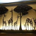 Lampara Jirafas 70 X 120 cm $ 2214