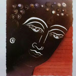 Lampara Buda 90 x 75 cm $ 1620