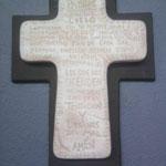 Cruz Padre Nuestro con Madera $ 48.00