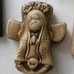Cruz Mini Virgen Plis $ 25.00