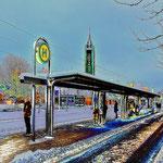 Baunatal-Mitte, Straßenbahn