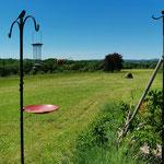 Vue du jardin depuis la chambre Chouette / Au mas de Janita ©