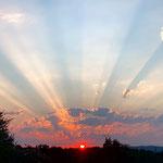 Admirer le crépuscule / Au mas de Janita ©