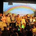 Erfolgreiches Musical der Franziskusspatzen im Schulzentrum Hattingen-Holthausen November 2012