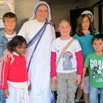Das dritte Schuljahr besucht die Mutter-Teresa-Schwestern in Essen