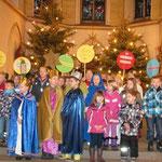 Neujahrsgrüße im Gottesdienst der Weihnachtszeit