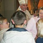 mit Bischof Dr. Felix Genn teil