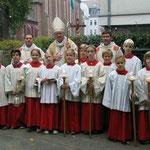 Weihbischof Franz Vorrath aus Essen eröffnete 2007 unsere Offene Ganztagsschule.