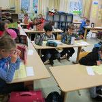 Jährlich nehmen wir an zwei überregionalen Mathematik-Wettbewerben teil