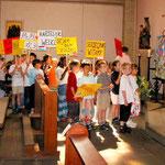 2003 besuchte uns Weihbischof Franz Vorrath im Rahmen ...