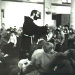 Das erste Franziskusfest feierten wir am 3. Oktober 1990 mit Pater Josef, Rektor des Franziskanerklosters Neviges