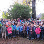 Am 9. November besuchen wir den Friedhof der früheren jüdsichen Gemeinde Hattingens und ...