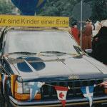 Am Festumzug zum Stadtjubiläum 1996 beteiligte sich unsere Schule mit 2 Gruppen.