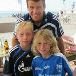 Während der Musikwoche 2010 trafen wir auf Borkum die Mannschaft des 1. FC Schalke, die dort eine Trainingswoche absolvierte.