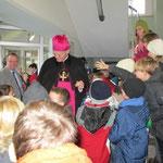 Zum 140. Schul-Geburtstag besuchte uns am 8. Dez. 2010 Ruhrbischof Dr. Franz Josef Overbeck aus Essen.