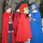 Adventsfeier mit Rollenspiel