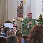 Im Juni 2014 besuchte uns Weihbischof Wilhelm Zimmermann aus Essen