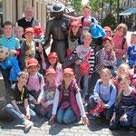 Dankwallfahrt des dritten Schuljahres nach Kevelaer