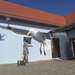 Angermunde Rostock Strahlsund Ostsee Graffiti Airbrush Wandmaler