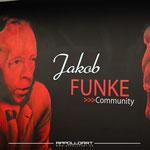 Graffiti Künstler bemalt Funke Media Design
