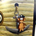 Kunst 2014 Graffitikünstler gesucht Motorrad Maus Palme Wald