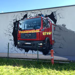 Wandgestaltung aus Berlin 3d Illusion
