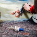 wandbild wandmalerei innenraum airbrush graffitikünstler