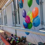 99 Luftballons kein Nena titel sondern ein Wandbild