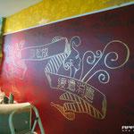 Wandmotiv im feng Shui still