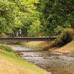 Brenners Park Brücke als kleine Abkürzung ins Casion ;-)