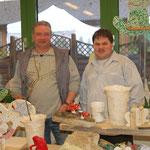 Wir auf dem Weihnachtsmarkt in der WFBM Eckernförde