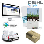 Corporate Design - Logoentwicklung/Imagebroschüre/Anzeigen/Internet/Packaging / DIEHL CONTROLS